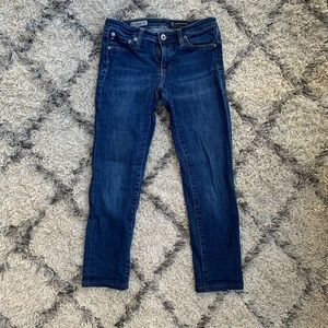 AG the leggings cropped jeans